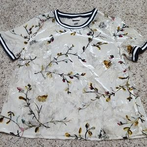 A New Day butterfly blouse